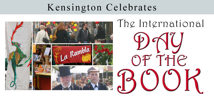 Kensington Celebrates the International Day of the Book Festival